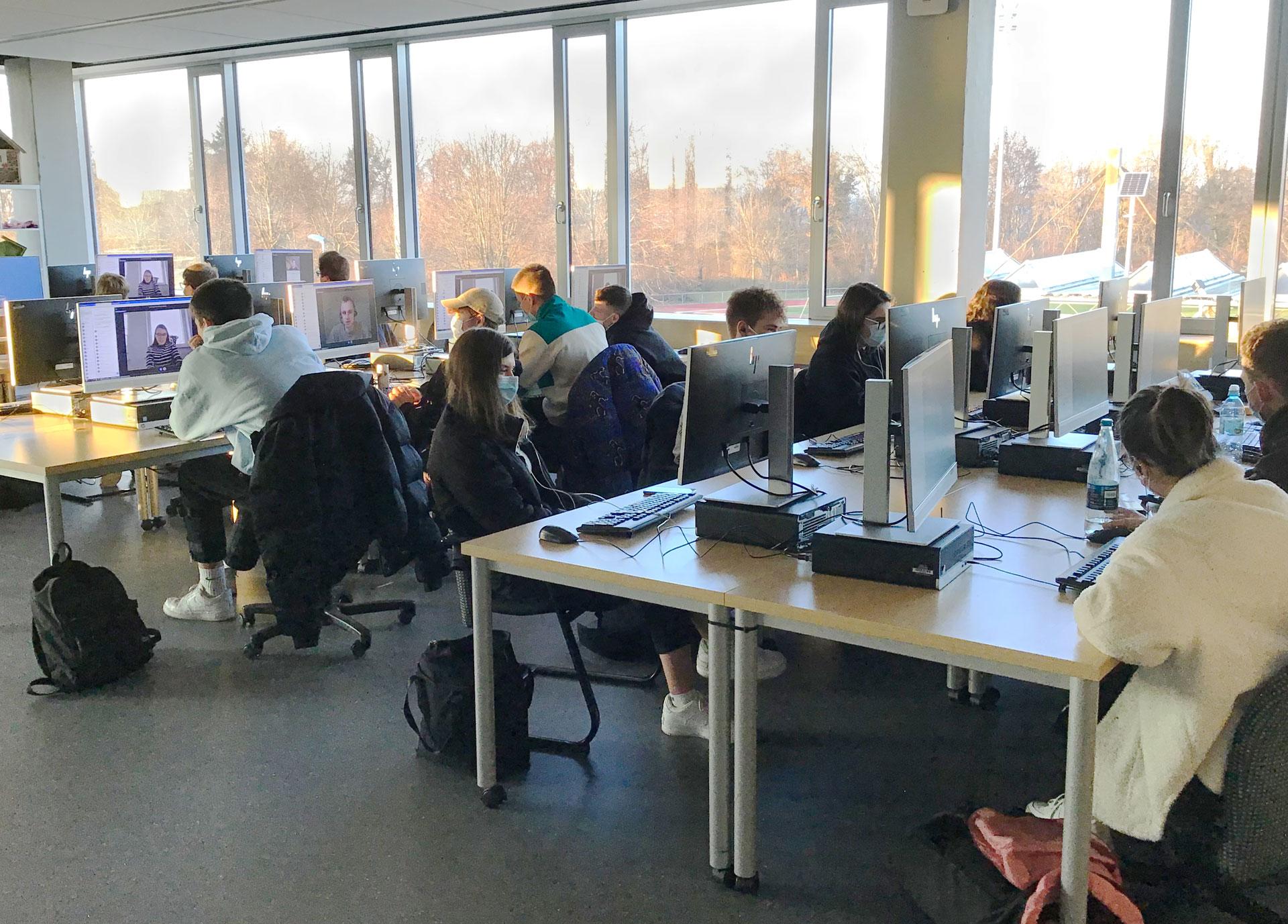 Kaufmänische Schule - Ausbildungsbotschafter Dezember digital 2020