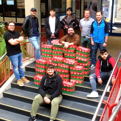 SMV Weihnachtsbaumaktion